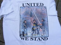 "FS: 2001 ""United We Stand"" Firefighter 9/11 Memorial T-Shirt"