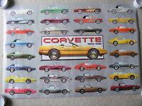 """FS: 1986 """"Corvette Evolution 1953-1986"""" Sheet #9-AQ-0023"""