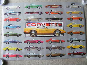 "FS: 1986 ""Corvette Evolution 1953-1986"" Sheet #9-AQ-0023 London Ontario image 1"