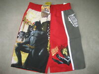 BRAND NEW - BATMAN SWIM TRUNKS - SIZE 5