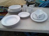 DISHES SETTING FOR 4