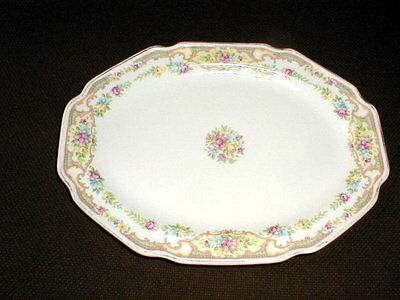 "Mt/Mount Clemens Pottery MCP MILDRED 9 3/4"" Oval Platter  on Rummage"