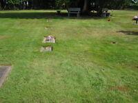 Burial plot Cedar Memorial