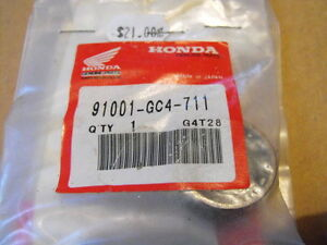 Honda CR 80 lower connecting rod pin and bering