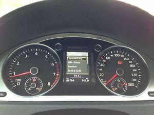 Adapter Tacho Kombiinstrument nachrüsten VW Passat 3C, CC Highline Farbdisplay