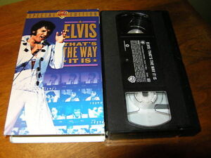 VHS ELVIS PRESLEY SPÉCIAL EDITION