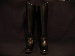 Ladies Devon Aire lined leather dress boot w back zipper 5 1/2W