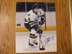 "FS: 2003-04 Dennis Wideman (London Knights (OHL) ""Autographed"" P London Ontario image 1"