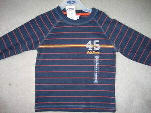 BRAND NEW Old Navy Long Sleeve Shirt (Navy)