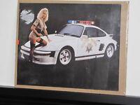 Posters plastifiés   Porche et police