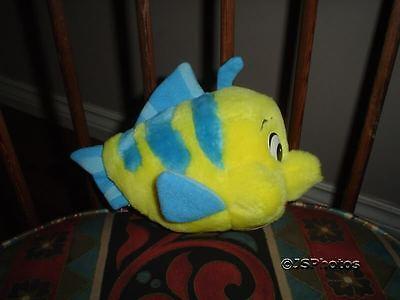 Little Mermaid Flounder Fish Stuffed Toy Disneyland