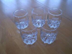 SET OF GORDONS DRY GIN GLASSES