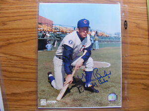 FS: Glenn Beckert (Chicago Cubs) 8x10 Autographed Photo London Ontario image 1