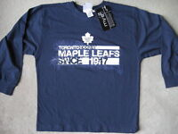 BRAND NEW Toronto Maple Leafs Shirt - Youth S