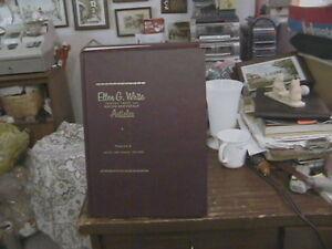 3 ELLEN G WHITE SEVEN-DAY-ADVANTEST BOOKS