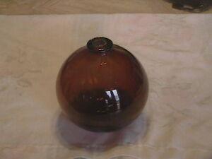 TARGET BALL 1880-1900 DEEP AMBER