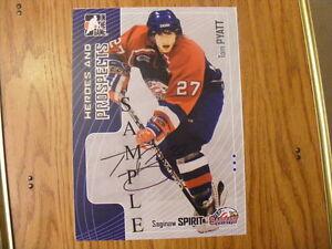 FS: 2005-06 OHL (Ontario Hockey League) Autographed Photos London Ontario image 3