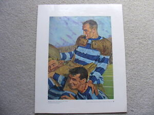 """FS: 1972 Prudential Collection """"1st Grey Cup Champions"""" Print London Ontario image 2"""