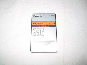 Roland Rom & Ram Card - Yamaha Ram Card