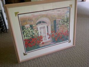 Beautiful, Large Watercolour / Print - Elizabeth Berry, Numbered Kitchener / Waterloo Kitchener Area image 1