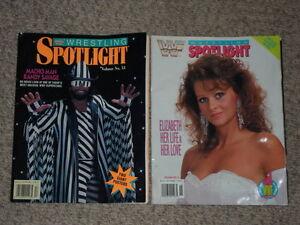 WWF Wrestling Spotlight magazines