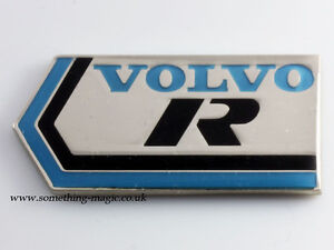 esmalte-cromo-azul-y-negro-VOLVO-R-coche-placa-C30-C70-S60