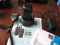 CP200 Motorola Two Way Radio - 4 W UHF