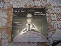 Open Championship of Canada Mint Set