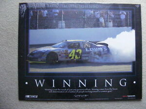 "FS: 2004 Jimmie Johnson ""WINNING"" JG Motorsport Nascar Sheet London Ontario image 1"