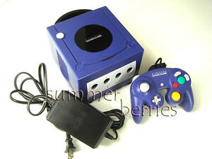 Nintendo GameCube Console - Indigo - Japanese Version