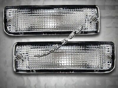 89-95 Toyota Pickup / 90-91 4runner Clear Bumper Lights