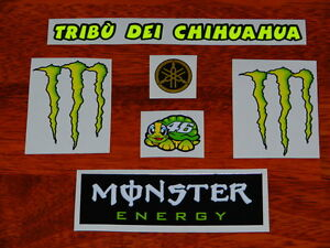HELMET-DECAL-STICKER-SET-KIT-2010-TRIBU-DEI-CHIHUAHUA-VALENTINO-ROSSI-VR46