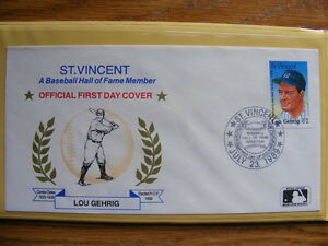 "FS: Major League Baseball ""Hall Of Fame Legends in 1st Day Cover London Ontario image 3"