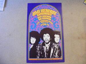 FS: 1988 Jimi Hendrix Experience 20th. Anniversary 1968 (Toronto London Ontario image 1