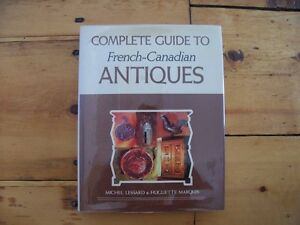 BOOKS ABOUT FRENCH-CANADIAN ANTIQUES