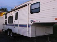 fifthwheel roulotte a scelette terry 1994 fifth wheel