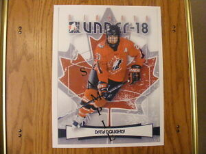 FS: 2007-08 Canadian Hockey League Autographed Photos London Ontario image 2