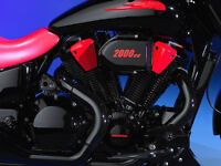 Ceramic Coated Motorcycle Exhaust & Powder Coated Wheels & Frame