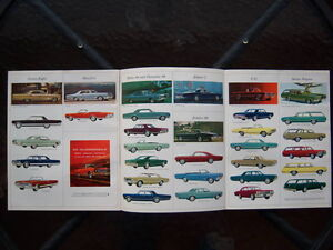 1965 Oldsmobile dealer showroom catalog London Ontario image 2