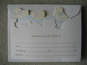 BRAND NEW Birth Announcement Cards