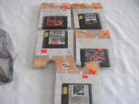 5 Different Sega Genesis Games