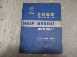 Ford  1952 to 1954