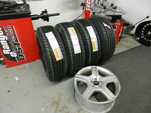 Tire Installation and Balancing Bent rim repair