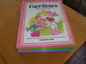 VINTAGE CHILDREN'S CARE BEAR HARD COVER  BOOKS