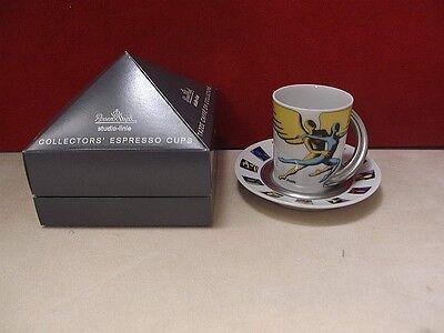 Rosenthal Jahres - Espressotasse Form Cupola 1998 Mark Kostabi