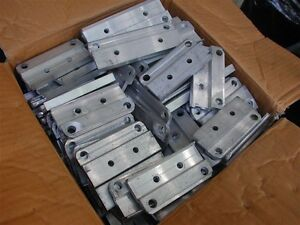 Caisse de fixation en aluminium commercial pour poteau de rampe