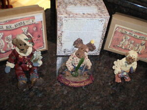 BOYDS BEARS NEW IN ORIGINAL BOXES RETIRED