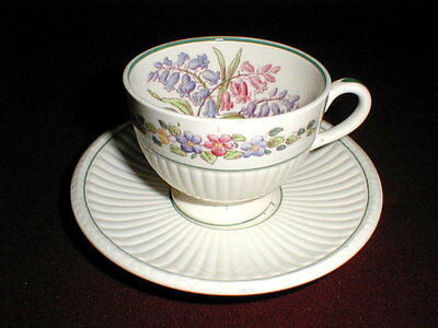 Wedgwood China GARDEN CLUB Saucer Only on Rummage