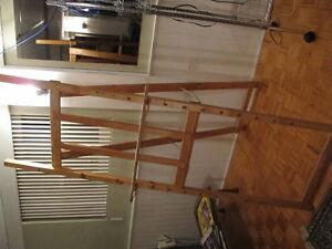 Toile intitulée : Les pharaons 100$ + trépied en bois 100$ West Island Greater Montréal image 3