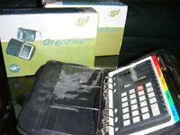 PERSONALIZED ORGENIZER+CALCULATOR-NEW IN A BOX